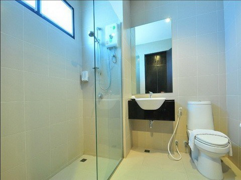 Deluxe shower room